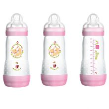 MAM anti colic bottle pink